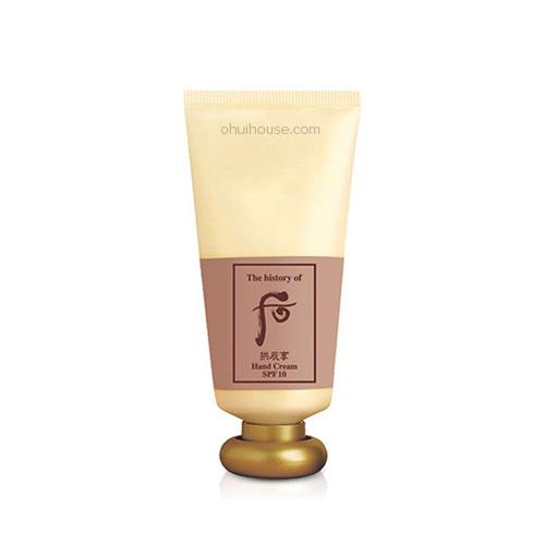 Kem dưỡng da tay chống nhăn Whoo Gongjinhyang Hand Cream SPF10