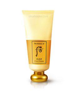 Sữa rửa mặt dưỡng ẩm Whoo Gongjinhyang Facial Foam Cleanser