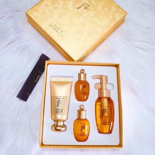 Kem BB trang điểm cao cấp Whoo Gongjinhyang Mi Luxury BB Cream SPF20/PA++ special set