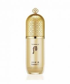 Kem CC trang điểm Whoo Gongjinhyang Mi Essential CC Cream SPF25/PA++