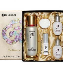 Bộ dưỡng chống lão hóa Whoo Bichup First Care Moisture Anti-Aging Essence Special Set (5 SP)