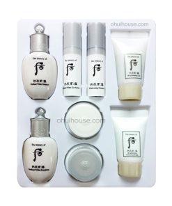 Bộ dưỡng trắng da Đông Y Whoo Radiant White Royal Whitening 8pcs Special Gift Kit (8 SP)