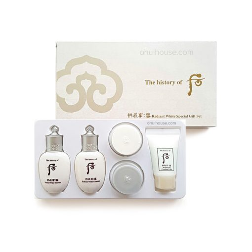 Bộ dưỡng trắng trị thâm nám Đông Y Whoo Radiant White Special Gift Set (5 SP)