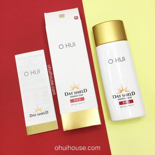 [Mẫu Mới] Kem chống nắng OHUI Day Shield Perfect Sun Red SPF50+/PA++++