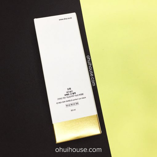 Hộp OHUI Day Shiled Perfect Sun Black SPF50+/PA+++ (80ml)