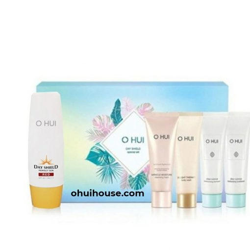 Bộ Kem chống nắng O HUI Day Shield Perfect Sun Red Special Set (5 SP)