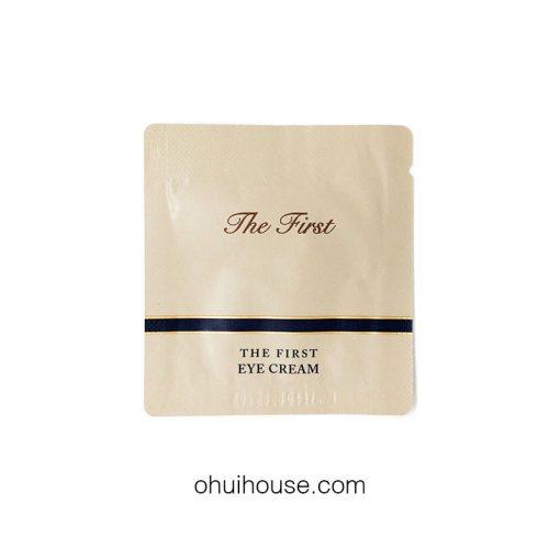 Set 10 gói Sample Kem dưỡng mắt Ohui The First Eye Cream