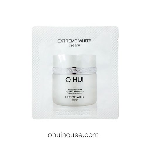 Set 10 gói Sample Kem trắng da và chống lão hóa Ohui Extreme White Cream