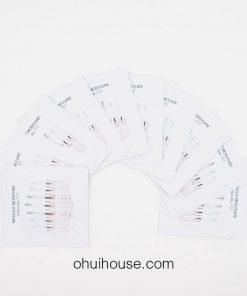 Set 10 gói Sample Tinh chất dưỡng ẩm Ohui Miracle Moisture Ampoule 777