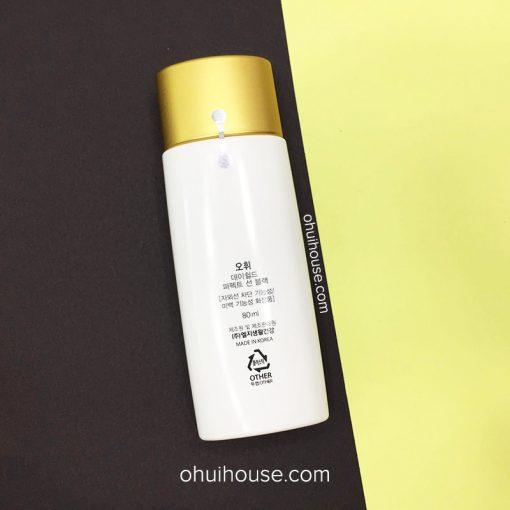 Kem chống nắng OHUI Day Shiled Perfect Sun Black SPF50+/PA+++