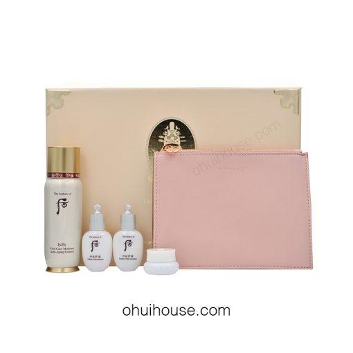 Bộ dưỡng chống lão hóa Whoo Bichup First Care Moisture Anti-Aging Essence Special Set (4 SP)