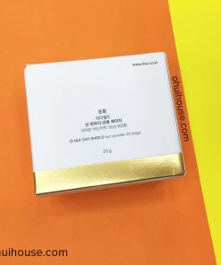 Mặt sau hộp OHUI Day Shield Perfect Sun Powder SPF50+/PA+++