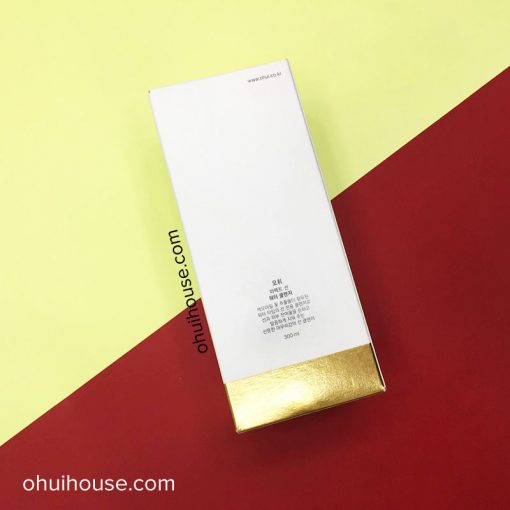 Mặt sau Nước tẩy trang Ohui Perfect Sun Water Cleanser (300ml)