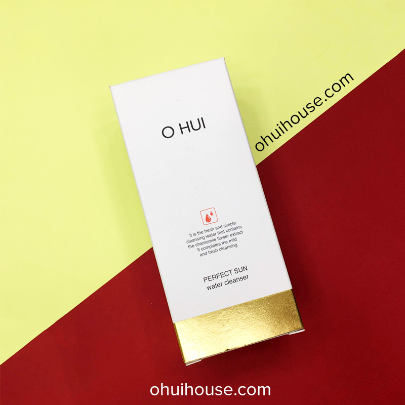 Mặt trước Nước tẩy trang Ohui Perfect Sun Water Cleanser (300ml)
