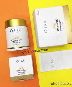 Trọn bộ OHUI Day Shield Perfect Sun Powder SPF50+/PA+++