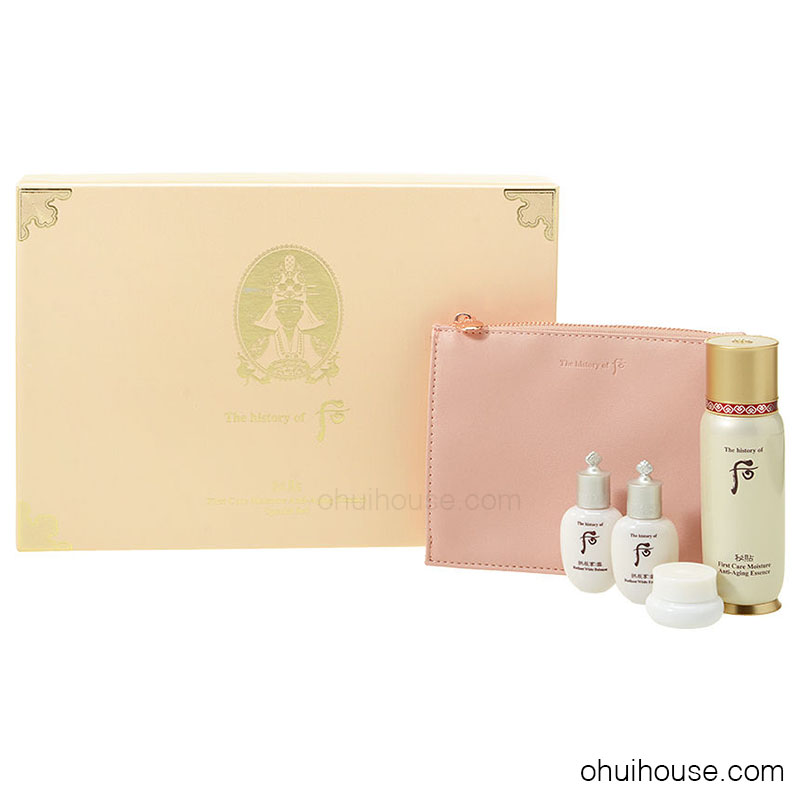Set dưỡng chống lão hóa Whoo Bichup First Care Moisture Anti-Aging Essence Special Set (4 SP)