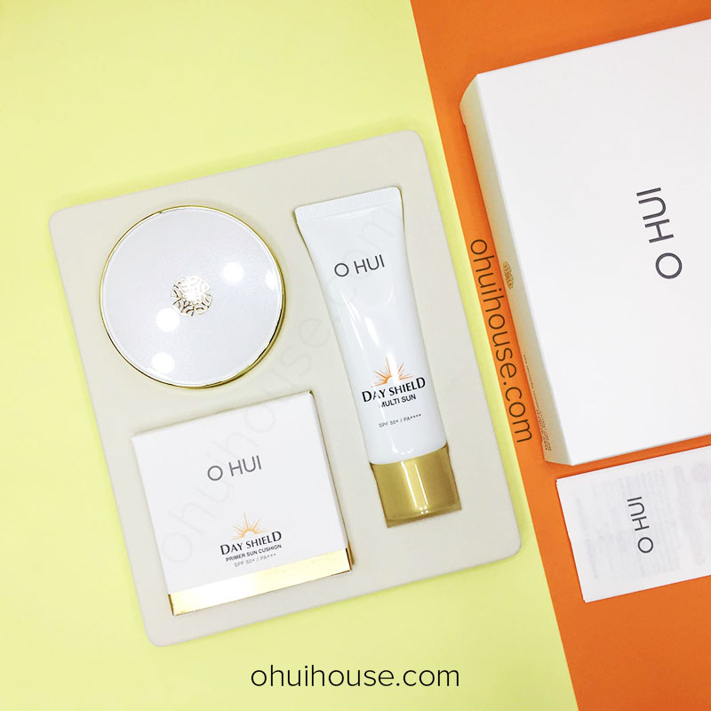 OHUI Day Shield Primer Sun Cushion Special Set