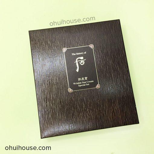 Hộp Whoo Gongjinhyang Wrinkle Sun Cream Special Set