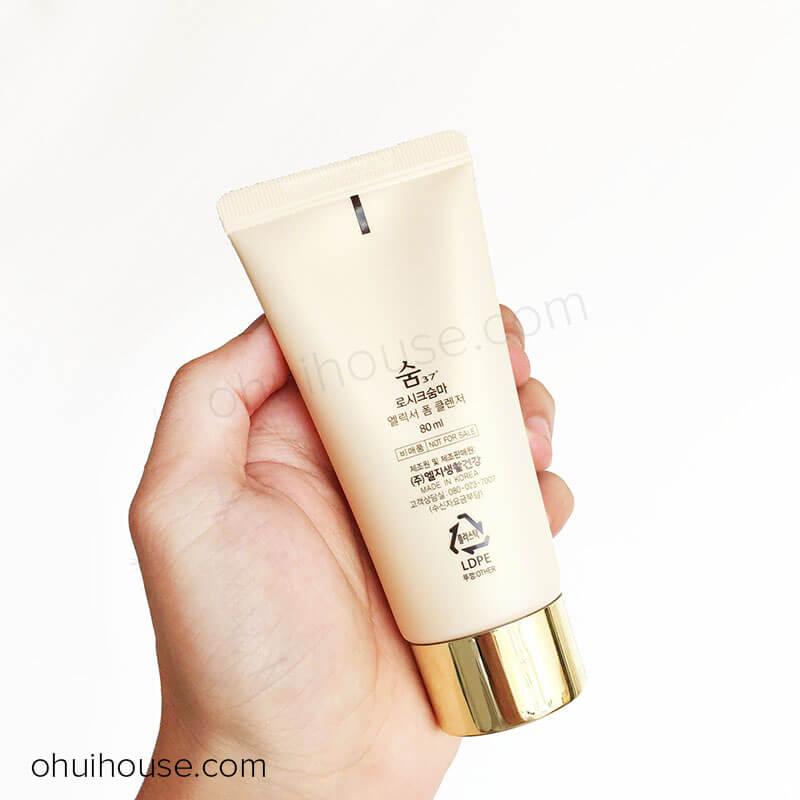 Sữa rửa mặt Su:m37 Losec Summa Elixir Foam Cleanser (80ml)