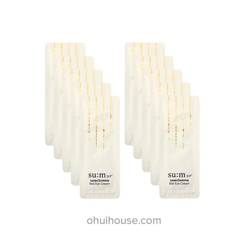 Set 10 Sample Kem dưỡng mắt Su:m37 Losec Summa Elixir Eye Cream