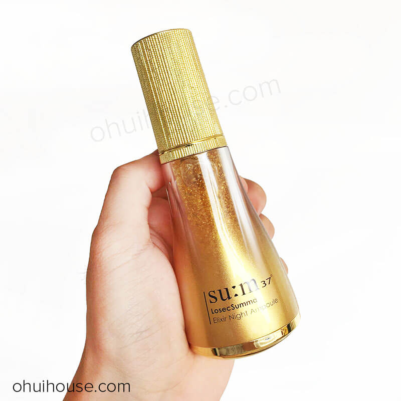 Tinh chất vàng dưỡng đêm Su:m37 Losec Summa Elixir Night Ampoule (20ml)