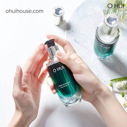 Review OHUI Prime Advancer Ampoule Serum