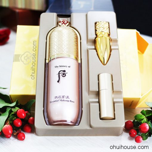 Bộ kem lót dưỡng ẩm trang điểm Whoo Gongjinhyang Mi Essential Makeup Base Special Set (3SP)