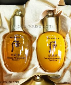 Whoo Gongjinhyang Balancer + Emulsion (20ml / 20ml)