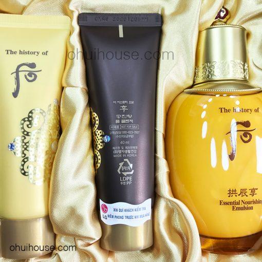 Kem dưỡng da tay chống nhăn Whoo Gongjinhyang Royal Hand Cream (40ml)