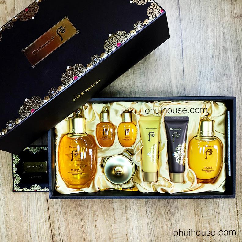 Bộ Whoo Gongjinhyang Special Set gồm 7 sản phẩm