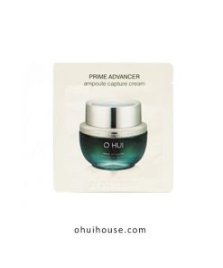 Set 10 gói Sample kem dưỡng trẻ hóa làn da OHUI Prime Advancer Ampoule Capture Cream