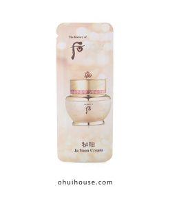 Set 10 gói sample Kem dưỡng chống lão hóa Whoo Ja Yoon Cream