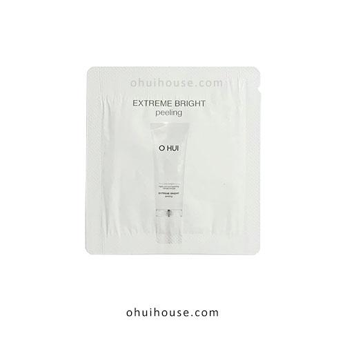 Set 10 gói Sample mặt nạ dạng kỳ OHUI Extreme Bright Peeling