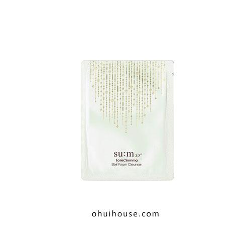 Sét 10 gói Sample sữa rửa mặt chống lão hóa Su:M37 Losec Summa Elixir Foam Cleanser