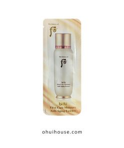 Set 10 gói sample tinh chất Whoo First Care Moisture Anti-Aging Essence