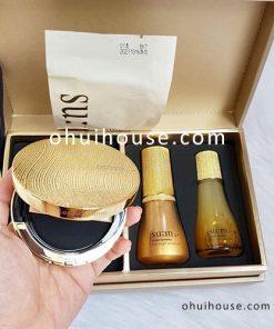 Sét phần nước tinh chất vàng đặc biệt Su:m37 Losec Summa Elixir Golden Cushion Special Set
