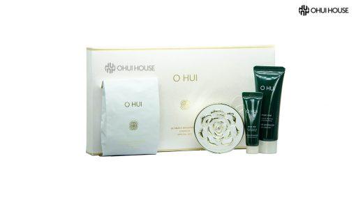Bộ phấn nước dưỡng trắng OHUI Ultimate Brightening Cushion Set