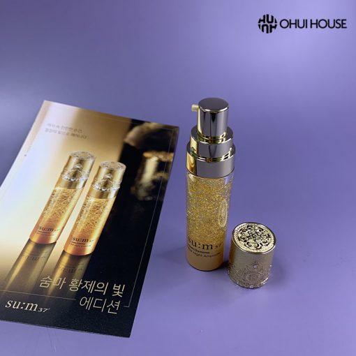Thành phần và công dụng của sét tinh chất vàng Su:m 37 Losec Summa Elixir Ampoule