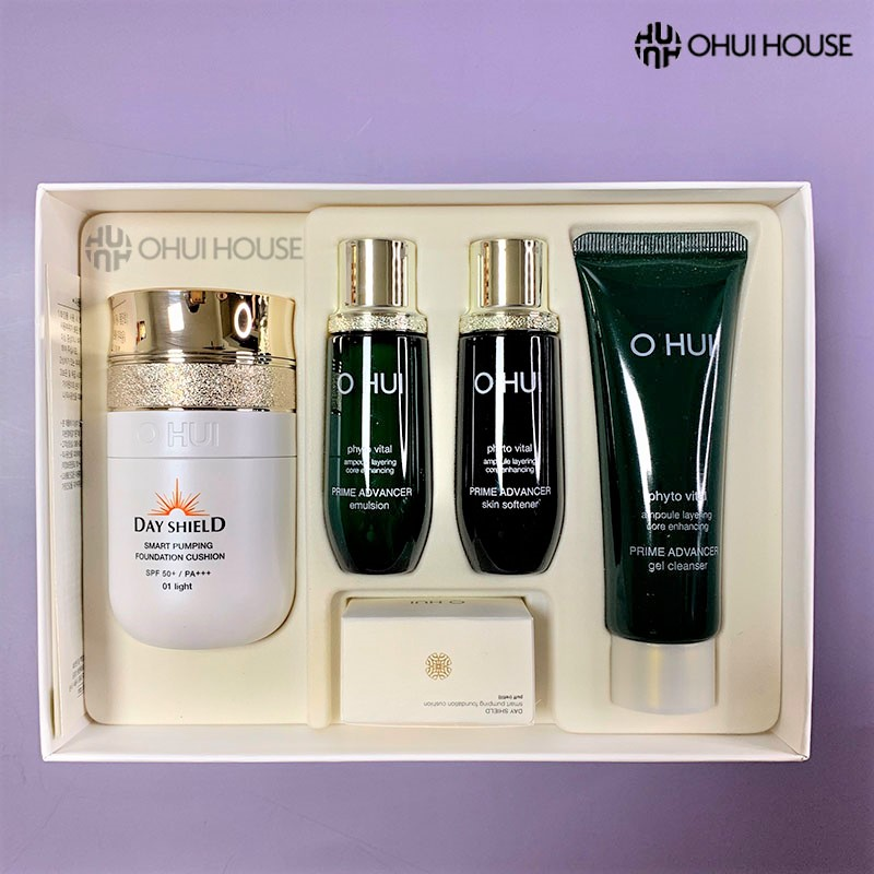 Tuýp sữa rửa mặt chống lão hóa dạng gel OHUI Prime Advancer Gel Cleanser