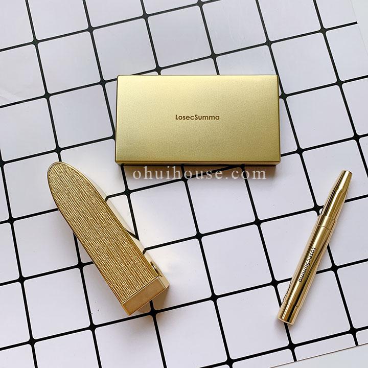 Bộ son lì dưỡng ẩm Su:m 37 Losec Summa Elixir Golden Lipstick Special Set gồm 3 sản phẩm