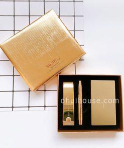 Bộ son lì dưỡng ẩm Su:m37 Losec Summa Elixir Golden Lipstick Special Set