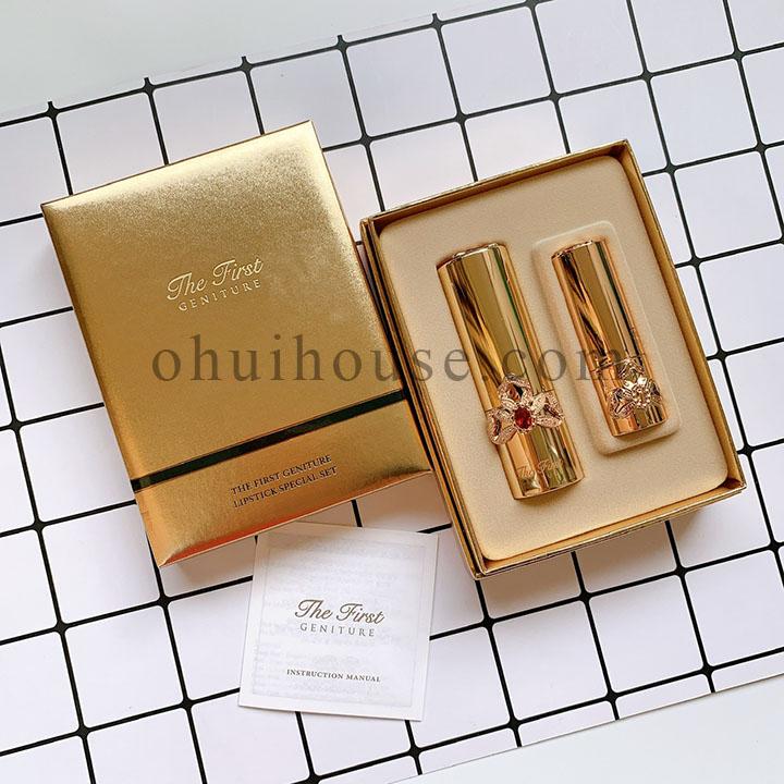 Bộ son lì siêu mềm mịn OHUI The First Geniture Lipstick Special Set (2 sản phẩm)