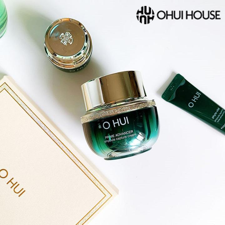 Kem dưỡng chống lão hóa OHUI Prime Advancer Ampoule Capture Cream 25ml
