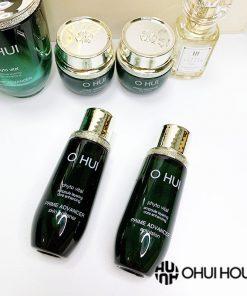Nước hoa hồng OHUI Prime Advancer Skin Softener và Sữa dưỡng da OHUI Prime Advancer Emulsion