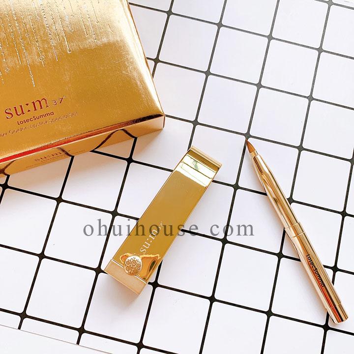 Thành phần và công dụng của bộ son lì dưỡng ẩm Su:m 37 Losec Summa Elixir Golden Lipstick Special Set