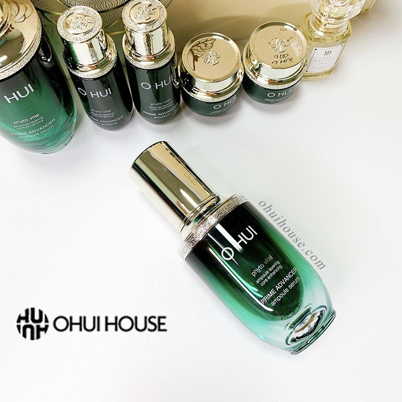 Tinh chất xanh chống lão hóa đặc biệt OHUI Prime Advancer Ampoule Serum 20ml