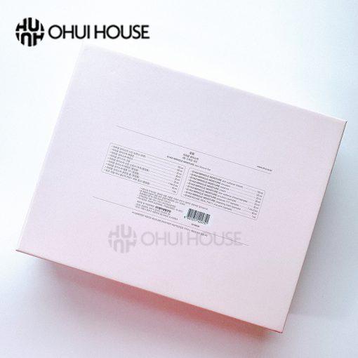 Bộ dưỡng ẩm trắng hồng Ohui Miracle Moisture Special Set ( mặt sau )