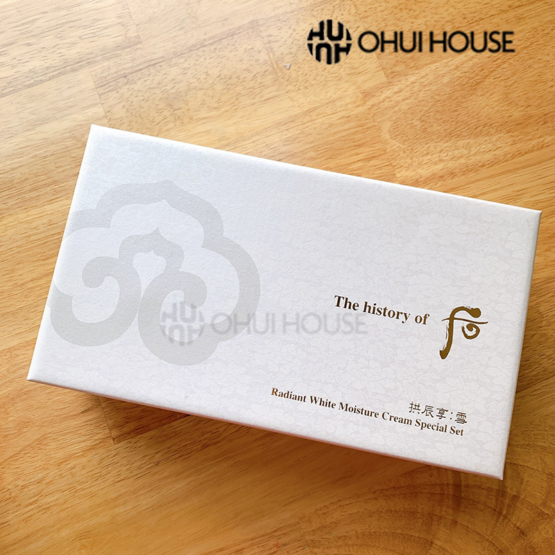 Bộ dưỡng trắng Whoo Radiant White Moisture Cream Special Set