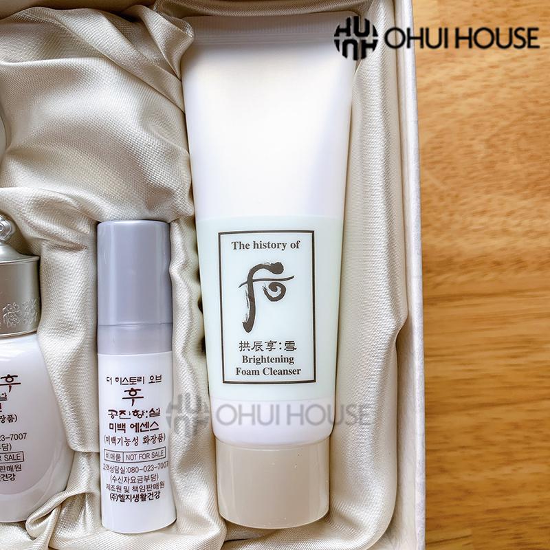 Sữa rửa mặt dưỡng trắng Whoo Gongjinhyang Seol Brightening Cleansing Foam 40ml