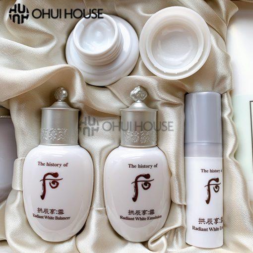 Bộ Whoo Radiant White Moisture